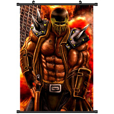 Anime Hokuto no Ken Fist of the North Star Poster Wall Scroll cosplay 2727