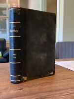 The Contributor   *1886* VOLUME 7 M.I.A. of Mormon/LDS 3/4 Leather Junius Wells