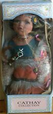 Cathay Collection Native American Girl Doll New In Box $ 9.99 No Reserve!