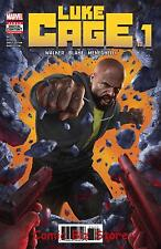 LUKE CAGE #1 (2017) 1ST PRINTING BAGGED & BOARDED DEFENDERS