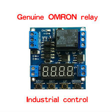 Multifunction Timer Delay Relay Module for timing and counting voltage detection