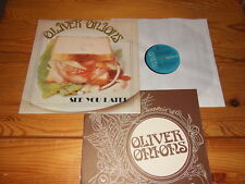 OLIVER ONIONS - SEE YOU LATER / ITALY-LP 1974 (EX) & 16 PAGE BOOKLET
