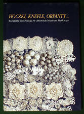 BOOK Polish Folk Jewelry Cieszyn silver hoczki Poland costume Czech ethnic kroj