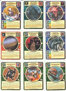 RARE Carte Mutant Chronicles 9 carte espansioni varie
