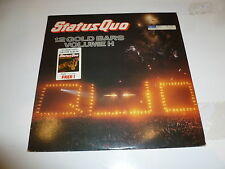 STATUS QUO - 12 Gold Bars Volume I+I - 1984 UK 24-track double vinyl LP
