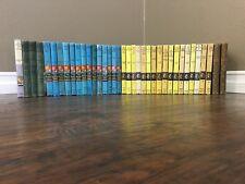 Lot Of 14 Vintage Hardy Boys  NANCY DREW & more Hardcover Books DECORATIVE