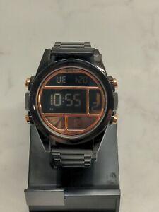 SKMEI Men Digital Watch 30M Waterproof Stainless Steel 1448 Nixon Unit Homage