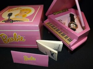 Solo in the Spotlight Barbie Watch Fossil 1990s Vintage Collectible with Box
