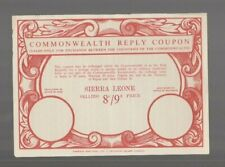 Sierra Leone, IRC INTERNATIONAL REPLY COUPON