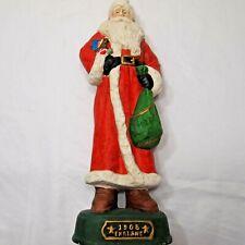 """Grandeur Noel 13"""" Porcelain Santa Claus  1905 England  Papa Noel  Christmas"""