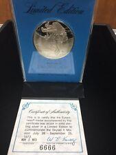 1973 Skylab II Sterling Silver Eyewitness Medal