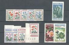 (853808) Flowers, Postage Due, Small lot, Miscellaneous, World