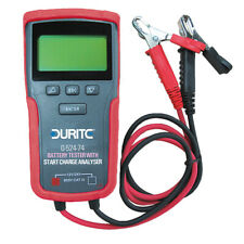 NEW Durite 0-524-74 Electronic Battery Tester With Start/Charge Analyser 12/24V