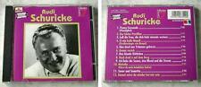 RUDI SCHURICKE Historische Aufnahmen .. EMI Pro7 Collection CD TOP