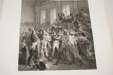 NAPOLEON LE DIX HUIT BRUMAIRE  GRAVURE 1838 VERSAILLES R1031 IN FOLIO