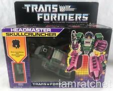 Transformers Original G1 1987 Headmaster Skullcruncher Complete w/ Box Stickers