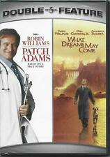 Patch Adams & What Dreams May Come: Double Feature (Dvd, 1998) New!