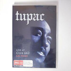 Tupac Live At Club 662 Vegas DVD Movie Region 4 AUS Free Postage - Music