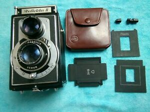 Welta Flexini Adapter Set auf 24x36- 35mm KB  Weltaflex Reflekta kompl. RARE!!