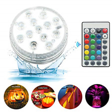 IP68 Waterproof LED Lights Submersible Hot Tub Accessories RGB Color Changing 13