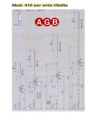 CREMONESE AGB ANTA RIBALTA CM 220/240 PER INFISSI IN LEGNO