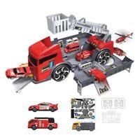 Simulation Spur TräGheit Kinder Puzzle Spielzeug Fahrzeug LKW Auto Modell V C5X4