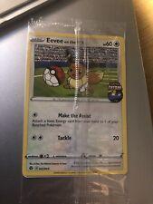 Pokemon Eevee on the Ball - Pokemon Card Futsal England UK Exclusive 002/005 NEW