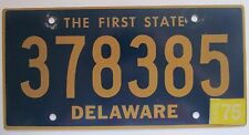 Delaware 1975 License Plate HIGH QUALITY # 378385