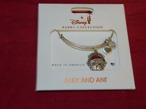 Disney Parks Alex and Ani Cruella Schooled in Cruel Charm Bracelet Silver New