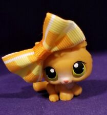 Littlest Pet Shop #86 Kitty Cat Kitten Orange Green Yellow Dot Eyes Red Magnet