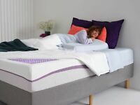 The Purple Mattress - Queen Size. Comfortable, Breathable, Bed in a Box.