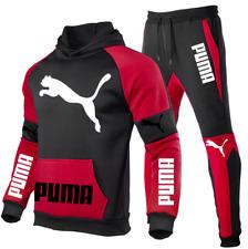 Puma Hoodie Herren 2-teiliger Jogginganzug Sportswear Anzug Sporthosen Set NEU !