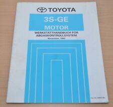 Toyota 3S-GE  Motor Abgaskontrollsystem November 1993 Werkstatthandbuch