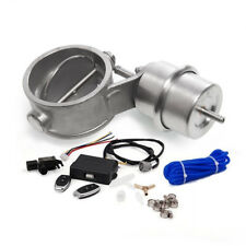 "CUTOUT 2.3"" 60mm Pipe Open Exhaust Valve & Vacuum Actuator & Wireless Controller"