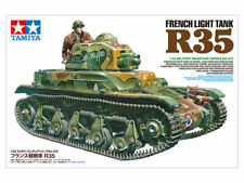 Tamiya 35373 1/35 FRENCH LIGHT TANK R35 w/ Commander+Assembly-Tracks+2-Marking