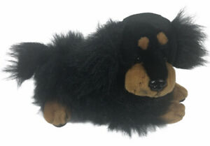 "Dan Dee Collectors Choice Black Puppy Dog Platinum 10"" Plush"