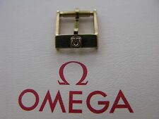 NOS Vintage Omega 10mm Gold Plated Buckle - Very Rare & Highly Desirable