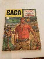 January 1950 SAGA Magazine General For Hire