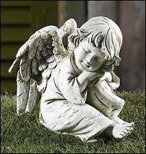 Prayerful Angel Garden Figurine NEW from Gifts of Faith (PA040) 6 Inches Tall