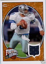 TONY ROMO 2008 UD FOOTBALL HEROES GAME USED JERSEY#/75