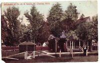 1909 ST CLEMENS Michigan Mich DR SMALE Postcard