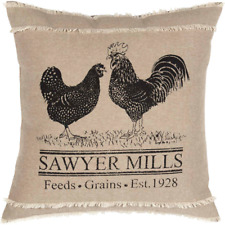 PRIMITIVE/COUNTRY SAWYER MILL POULTRY PILLOW