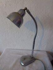 ancienne lampe de bureau bras flexible vintage deco art deco loft industriel