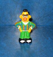 "Sesame Street Collectible Miniature Figure BERT 1980's Muppet's Vintage 2 & 1/8"""