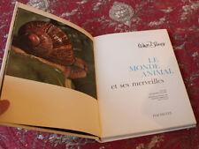 1968 Le monde animale Walt Disney  Livre enfant  la faune