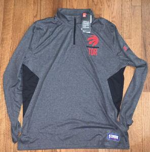 Men's Toronto Raptors Under Armour Combine Tech Quarter-Zip Jacket 2XL NWT $60