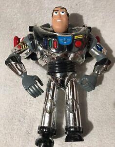 Silver Buzz Lightyear 12 inch Figure