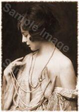 Vintage 115 1920's Erotic Female Nude Sepia Retro Art PHOTO REPRINT A4 A3 or A2