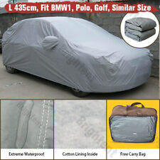 Outdoor Indoor Waterproof Universal Car Cover Heavy Duty Cotton Lined WCC0P
