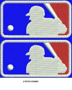 **LOVE IT OR ITS FREE**  BASEBALL EMBROIDERED PATCH, FREE SHIPPING